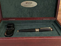 PLATINUM AD2000 Ebonite Commemorative Y2K Limited Edition Fountain Pen