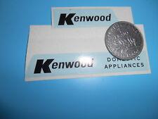 (Tr 35) DINKY TOYS  stickers TRANSIT KENWOOD ref 407