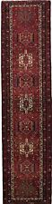 Semi Antique Red Geometric 3X13 Gharajeh Runner