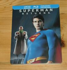 SUPERMAN RETURNS Blu-ray Steelbook Limited Edition Canada (inclus VFF) (RARE)