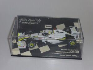 Minichamps Brawn GP BGP 001 J Button Spanish GP 2009  Item 400 090422 Boxed