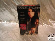 A Time To Kill VHS Sandra Bullock Samuel L. Jackson Matthew McConaughey