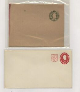 US - 2 Postal Stationeries Lot # 105