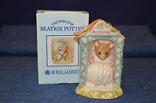 ROYAL ALBERT BEATRIX POTTER MISS DORMOUSE BOXED BP-6a