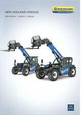 New Holland LM5000 Series Telehandler Specifications sheet 07/11