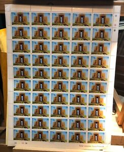 Dominica 1 Cents Stamp Monument 50 Pcs Sheet
