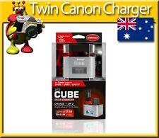 DSLR Twin Charger Hahnel Pro Cube for  Canon LP-E6 LP-E8 & LP-E17