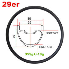 29er carbon mountain bike rim 30mm wide mtb carbon rim design for cross country