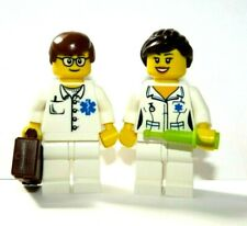 Lego Doctor & Nurse  Minifigure With Accessories City Hospital Rescue Paramedic