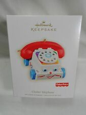 2009 Hallmark Keepsake Ornament Chatter Telephone Fisher Price