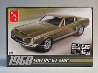 AMT 1968 SHELBY GT 500 MODEL CAR KIT plastic 1:25 Scale Skill 3 ford AMT634 NEW