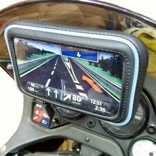 Adhesive Stick On Mount & Waterproof Case for Garmin Nuvi 1490