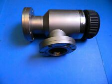Varian High Vacuum Valve Right Angle 2-3/4