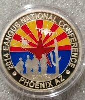 1 oz .999 silver proof 2014 EANGUS Phoenix Arozona rare only 25 minted appache