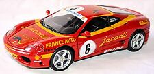 Ferrari 360 Modena Challenge #6 jacadi France Car 1:18 Conversion of Giovanni
