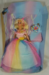 1997 Birthday Barbie Special Edition No Box Still On Cardboard Complete See Pics