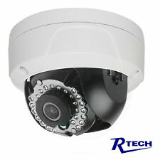 R-Tech 4M IP HD Dome Security Camera POE 2.8mm Night Vision-IPDF-6041-A