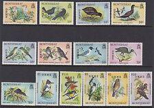 Elizabeth II (1952-Now) Birds Montserratian Stamps