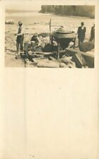 C-1910 Occupation Workers Pump Mixer equipment RPPC real photo postcard 12356