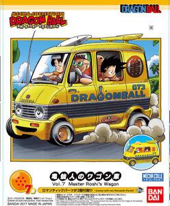 Dragon Ball Vol. 7 Master Roshi's Wagon Furgonie Djinn - Bandai Kit 7cm - New