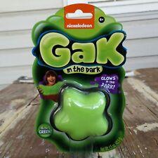 Nickelodeon Gak In The Dark Green - New