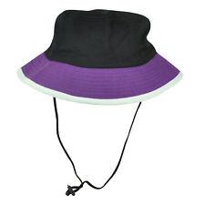 Blue Purple Sun Bucket Crusher Fisherman Hat Blank Outdoors One Size Two Tone
