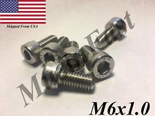 M6x1.0 Socket Head Cap Screw 12mm-40mm Stainless Steel 18-8 A2 ISO:4762 DIN:912