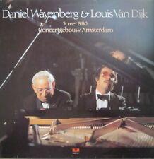 DANIEL WAYENBERG & LOUIS VAN DIJK - CONCERTGEBOUW AMSTERDAM  -  LP