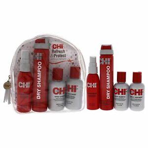 """Refresh & Protect 4 Pc Kit by CHI - 2oz Iron Guard 44, 2.6oz Dry Shampoo & More"