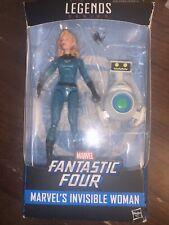 """NIB Marvel Legends INVISIBLE WOMAN Walgreens Exclusive 6"""" Hasbro Fantastic 4"""