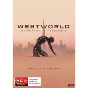 Westworld Season 3 2020 BRAND NEW Region 4 DVD