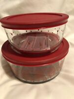 2020 Opalhouse Hearts Storage Container Bowl 4 & 7 Cup LIMITED EDITION Valentine