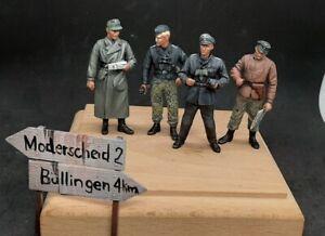 1/35 painted Kampfgruppe Peiper (Joachim Peiper a staff, Ardennes 1944)