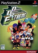 Used PS2 Dance Dance Revolution EXTREME SONY PLAYSTATION 2 JAPAN VERSION