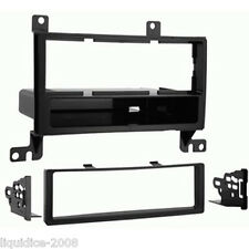 CT24HY04 FITS HYUNDAI SANTA-FE 2007 to 2012 BLACK SINGLE DIN FASCIA ADAPTER