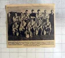 1961 Marlborough Town Football Club Team Photo, Rawlings, Oram, Ennis,