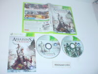 ASSASSIN'S CREED III game complete w/ manual - Microsoft XBOX 360