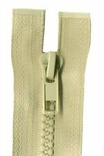 35cm Biscuit Open End Chunky Zip