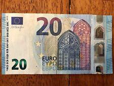 EU 20 Euro Bank Note Paper Money Bill Circulated Good 2015 European Union Money