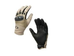 OAKLEY SI Factory Pilot Khaki Sand XS Tactical Knuckle Glove