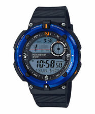 Casio Twin Sensor Watch, Compass, Thermometer, 200 Meter WR,5 Alarms, SGW600H-2A