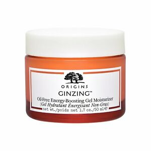 Origins Ginzing Oil-Free Energy-Boosting Gel Moisturizer 50ml 72-hours Hydration