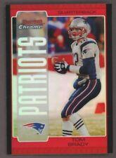 2005 Bowman Chrome RED Refractor #8 Tom Brady New England Patriots