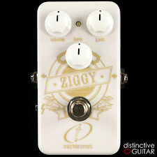 DEMO CRAZY TUBE CIRCUITS ZIGGY MOSFET CASCADING GAIN BOUTIQUE OVERDRIVE PEDAL