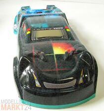 RC Auto Karosserie grau/türkis ca. 45,5 x 16 x 9 cm Maßstab 1:8