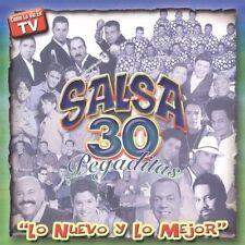 Salsa 30 Pegaditas: Lo Nuevo y lo Mejor by Various Artists (CD, May-2005, 2 Disc