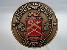 USMC Quantico Base Challenge Coin Marine United States Corps Military MCB Semper