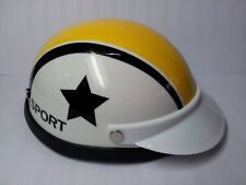 Helmet Hat Cap Dog Cat Costume Accessory Pet Supplies Safety Star White Yellow