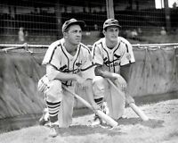 Stan Musial  Johnny Hopp Photo 8X10 - Cardinals 1944  - Buy Any 2 Get 1 Free