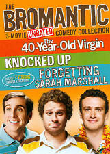 The Bromantic 3-Movie Unrated Comedy Collection Dvd 3-Disc Set Knocked Up
